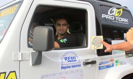Joaninha vai ter uma experiência no Rally neste final de semana