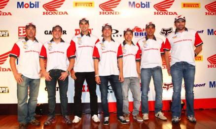 Pilotos oficiais Honda para 2012