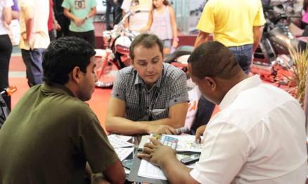O evento tem tido várias rodadas de negócios