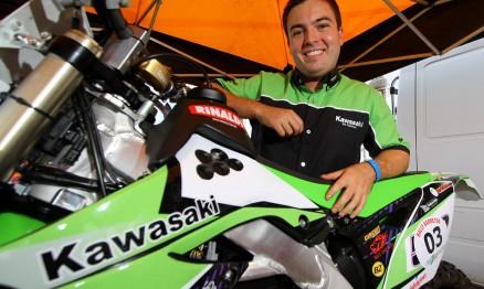 O brasileiro Ramon Sacilotti é piloto de Rally
