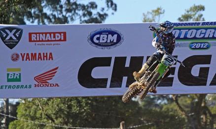Chumbinho venceu a primeira etapa na categoria MX3
