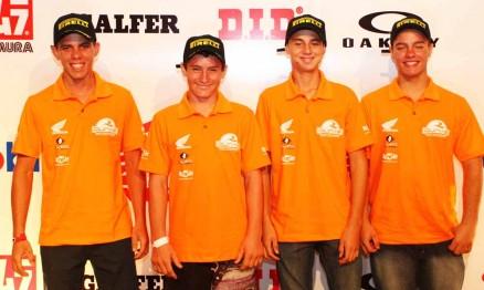 Membros da equipe Dunas / Honda