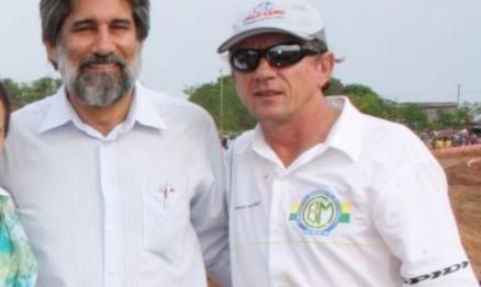 Senador Valdir Raupp e Reinaldo Selhorst