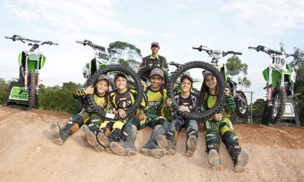 Equipe Green Kids Kawasaki