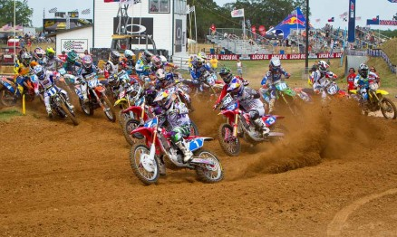 Largada categoria WMX em Freestone