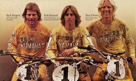 Glover foi um dos grandes pilotos do AMA MX nos anos 70 e 80