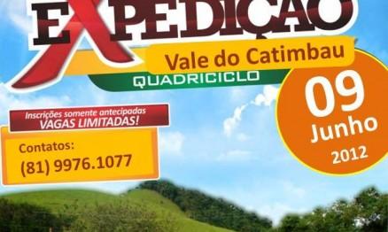 Expedição Ecológica de Quadri no Vale do Catimbau