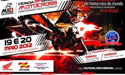 Definidos os Brasileiros que correrão o GP Brasil de MX