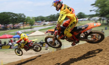 James Stewart e Ryan Dungey