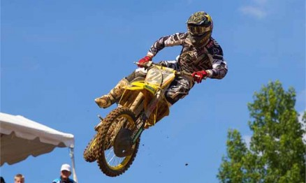 Metcalfe está fora de ação no AMA Motocross