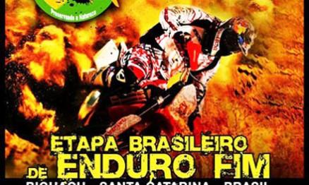 Biguaçu receberá o Brasileiro de Enduro FIM
