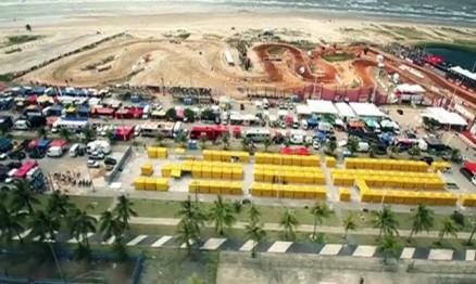 Visual da etapa do Brasileiro de Motocross em 2011