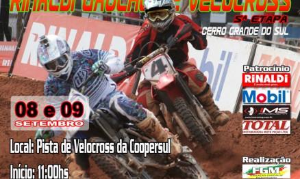 Gaúcho de Velocross volta a região da Costa Doce