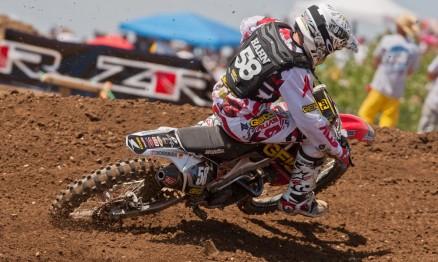 Will Hahn em ação no AMA Motocross