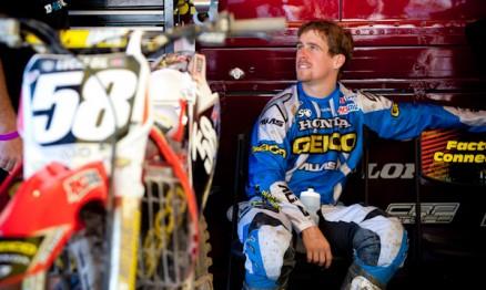 Will Hahn nos boxes da Geico / Honda