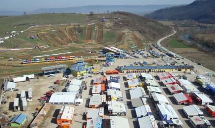 Visual da pista de Sevlievo na Bulgária