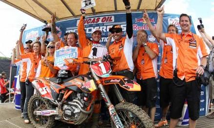 Ryan Dungey é o campeão do AMA Motocross 450 2012