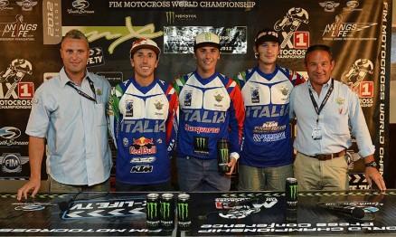 Team Itália para o Motocross das Nações