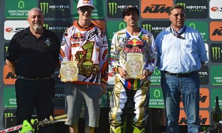 Herling e Cairoli são os campeões Mundiais MX2 e MX1 2012