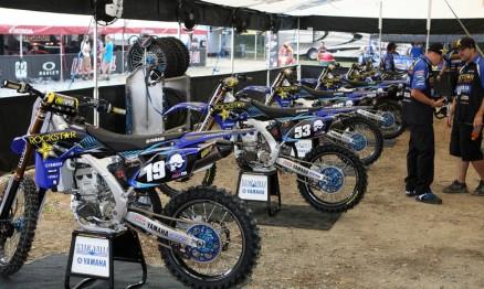 Equipe Star / Valli / Yamaha em ação no AMA Motocross