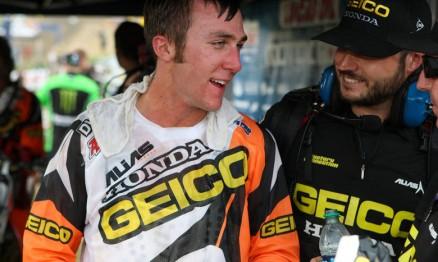 Tomac continuará na equipe semi-oficial Geico / Honda