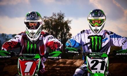 Ryan Villopoto e Jake Weimer
