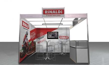 Stand da Rinaldi no evento deste próximo final de semana