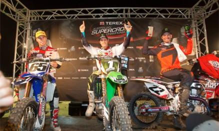 Pódio do campeonato 2012 na categoria Pro