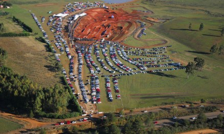 Imagem aérea do Motor Speed Park