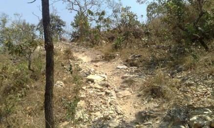 Uma das trilhas onde passará o Enduro