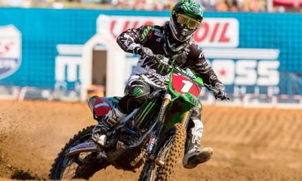 Wilson foi campeão do AMA Motocross 250 em 2011