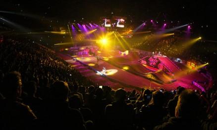 O Supercross de Bercy é um show de Supercross