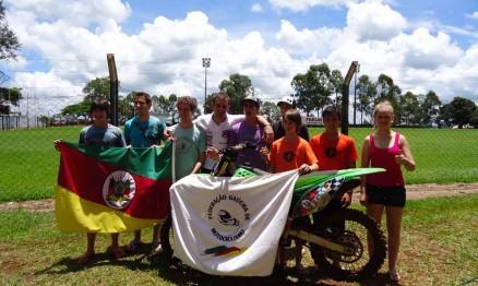 Equipe do Rio Grande do Sul no Sul-Brasileiro de Supercross