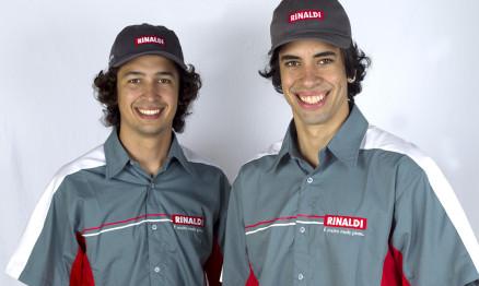 Pilotos Rinaldi se aquecem para a temporada 2013