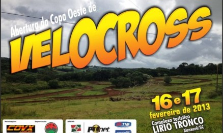 Copa Oeste de Velocross abre domingo em Xanxerê