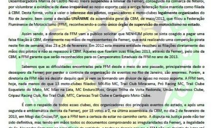 Tribunal recoloca FFM como única Federação do Rio
