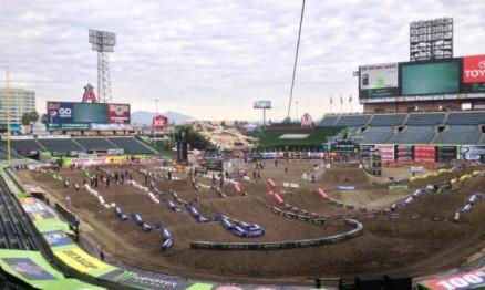 Resultados do AMA Supercross em Anaheim3