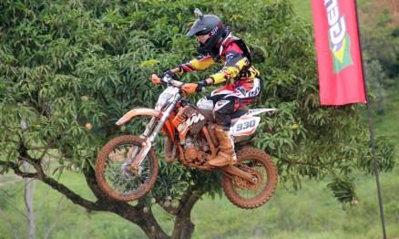Gustavo venceu a MX Junior