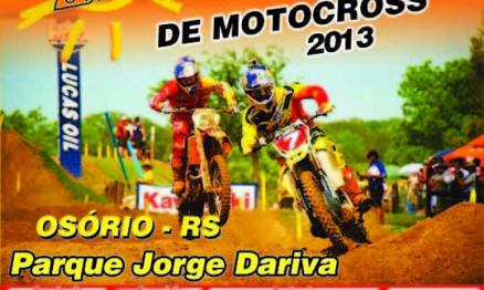 Domingo tem a final da Copa SobreRodas de Motocross