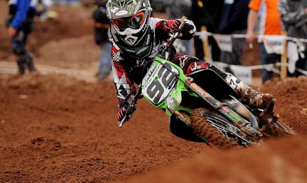 Cianciarulo no gate da abertura do AMA Motocross ?