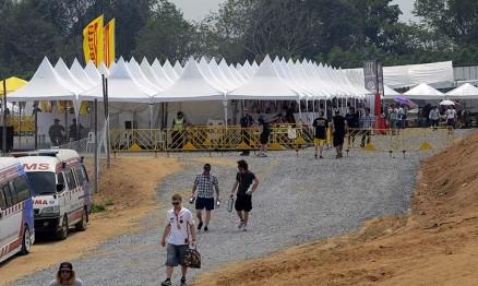 Galeria de fotos do Mundial de Motocross na Tailândia