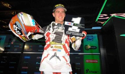 Wil Hahn 2013 AMA Supercross Lites East Champion
