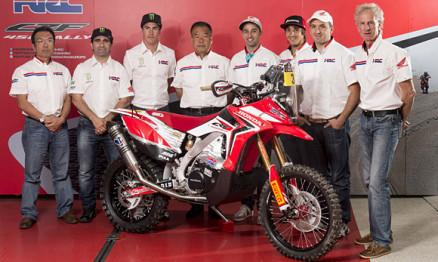 HRC anuncia time para o Rally Dakar 2014