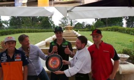Cairoli, Bobryshev e Paulin mostram talento na cozinha