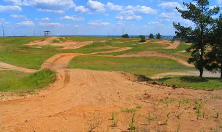 Motocross-track
