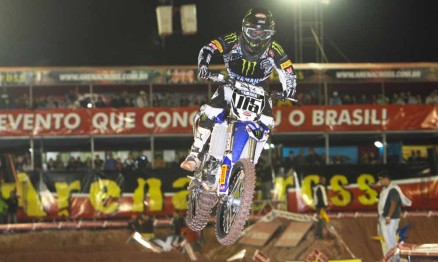 Com novidade Penha recebe etapa do Arenacross