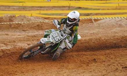 Eduardo Dudu fez boa estreia no Baiano de Motocross