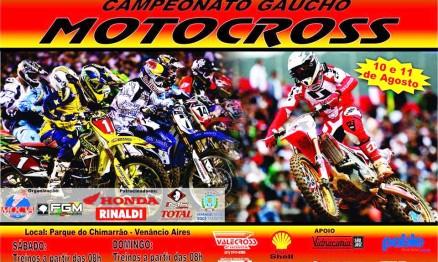 Gaúcho de Motocross terá novidade em Venâncio