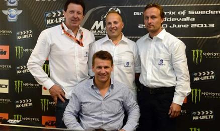 Husqvarna definiu equipes para o Mundial de MX 2014