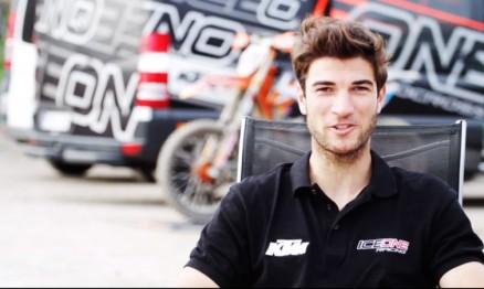 Azar da equipe Ice1 / KTM no Mundial de MX